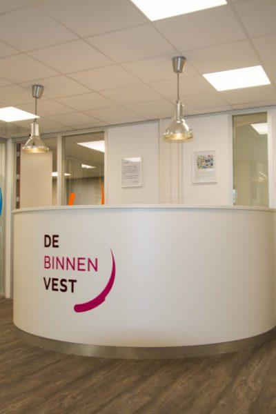 Binnenvest Leiden totale binnenafbouw