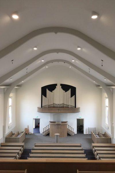 Kerkplafond te katwijk 2